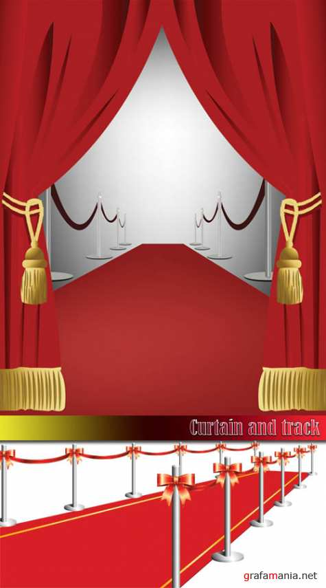 Curtain and track