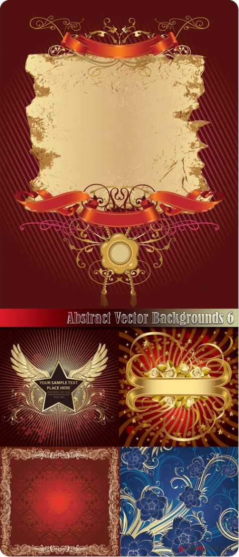 Abstract Vector Backgrounds 6