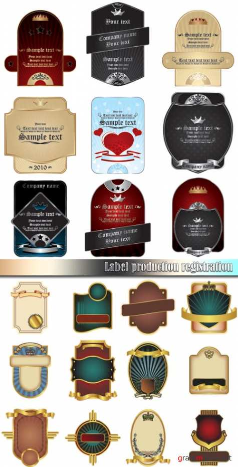 Label production registration