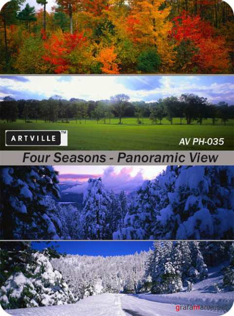 AV PH-035  Four Seasons - A Panoramic View