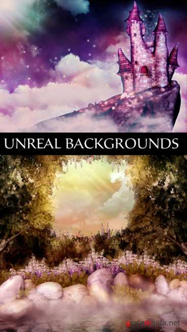 Unreal backgrounds