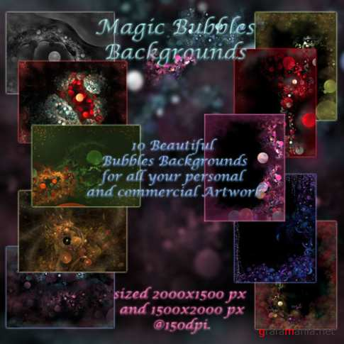 Magic Bubbles Backgrounds