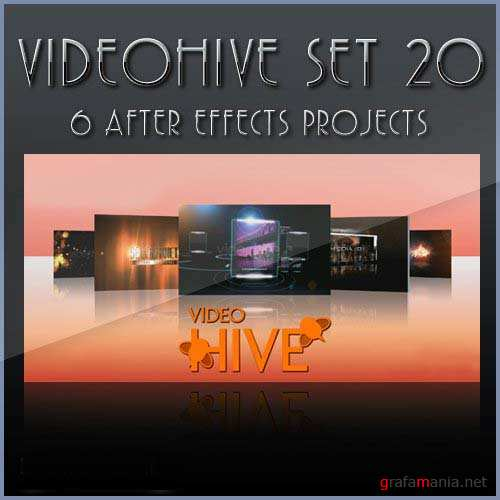 After Effects projects: VideoHive set 20