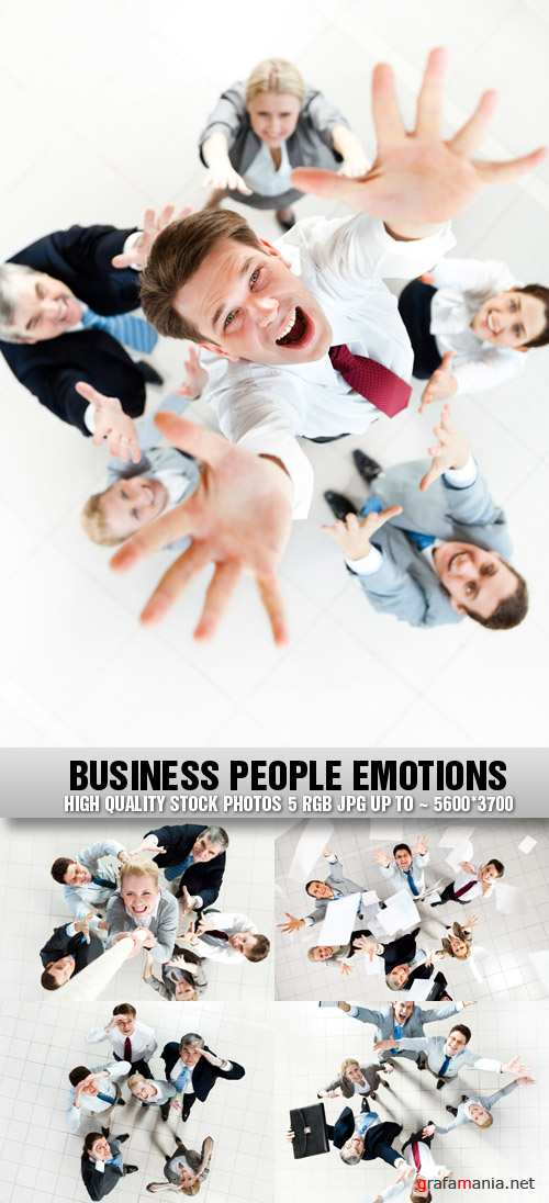 Stock Photo - Business People Emotions
