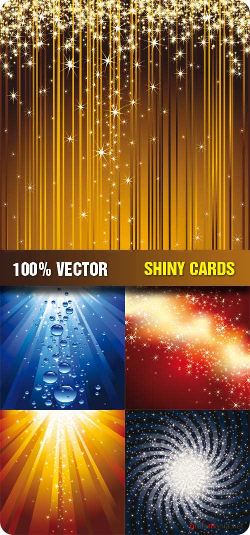 Stock Vector - Shiny Card