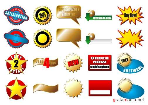 Иконки-Stock Icons Vector Pack