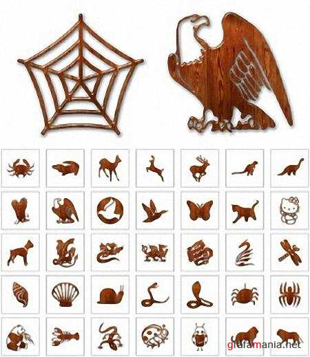 Wooden Icons: Animal
