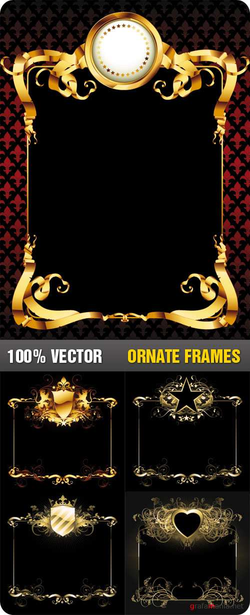 Stock Vector - Ornate Frames