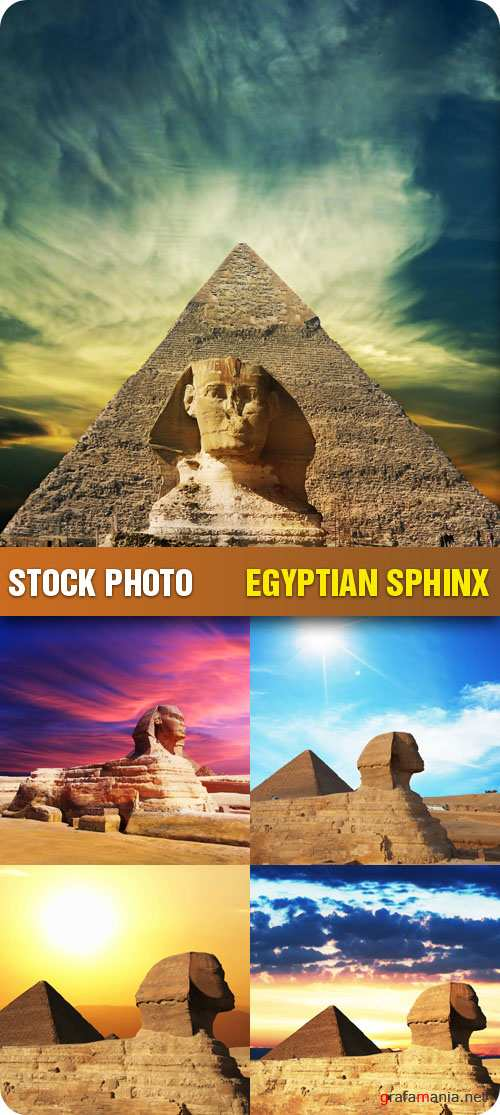 Stock Photo - Egyptian Sphinx