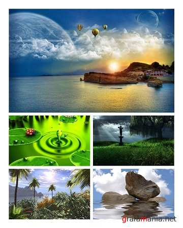Nature 3D Wallpapers