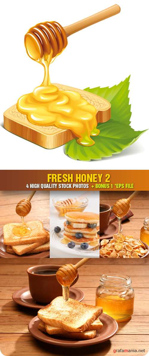 Stock Photo - Fresh Honey 2