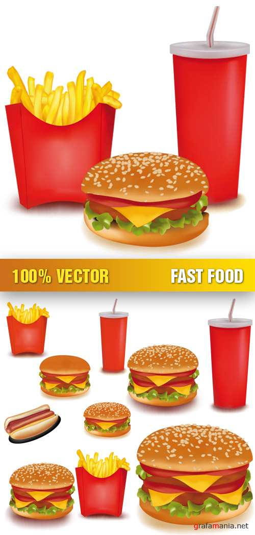 Stock Vector - Fast Food