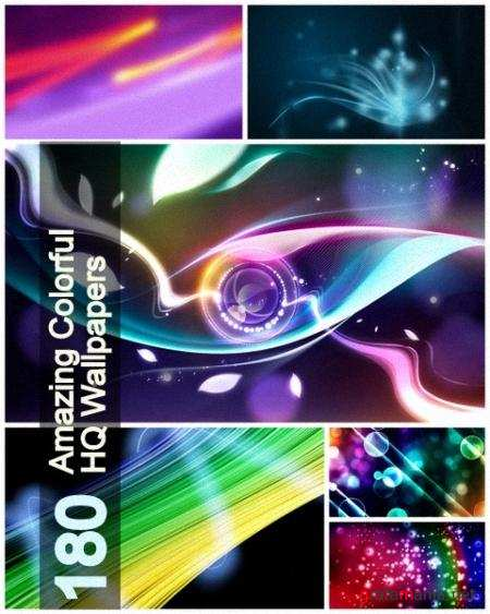 180 Amazing Colorful Wallpapers