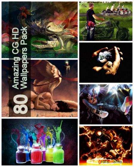 80 Amazing CG HD Wallpapers Pack