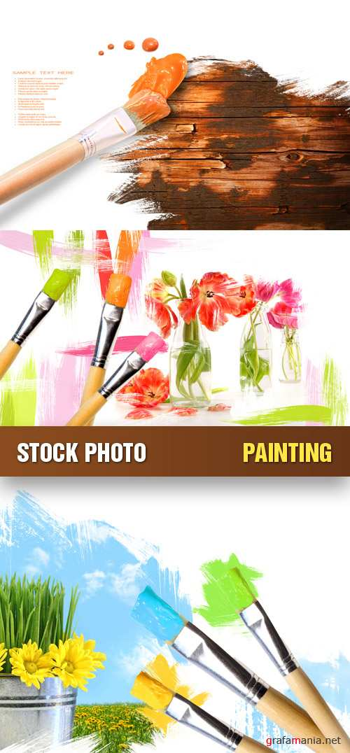 Stock Photo - Painting