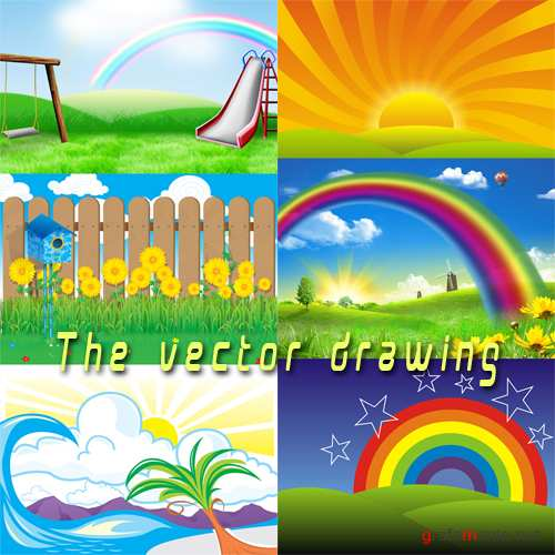 Backgrounds - The vector drawing-4