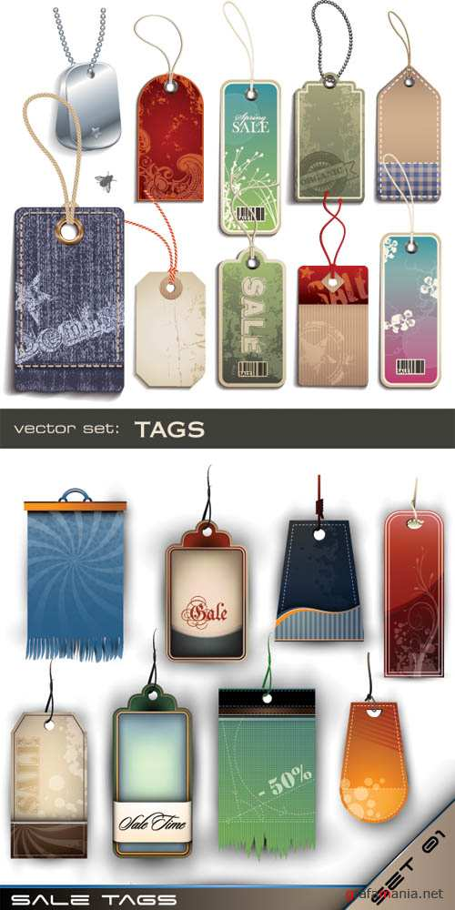 Vector tags