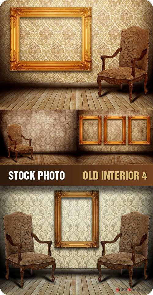 Stock Photo - Old Interior 4
