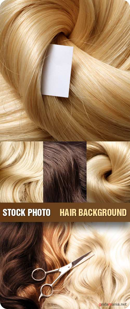 Stock Photo - Hair Background