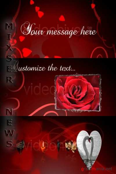 VideoHive - Love Romance and Valentine .73427