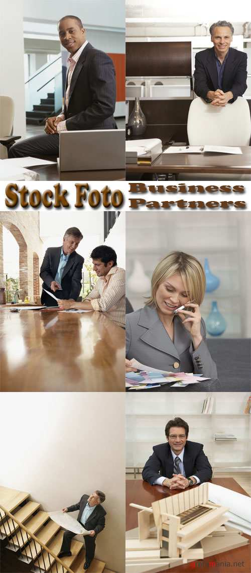 Stock Foto: Business Partners