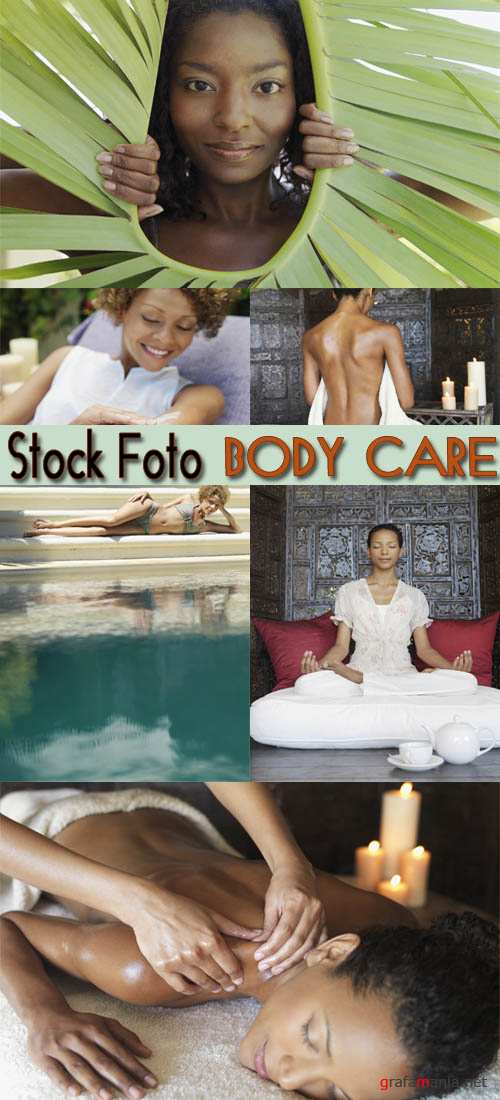 Stock Foto: Body Care