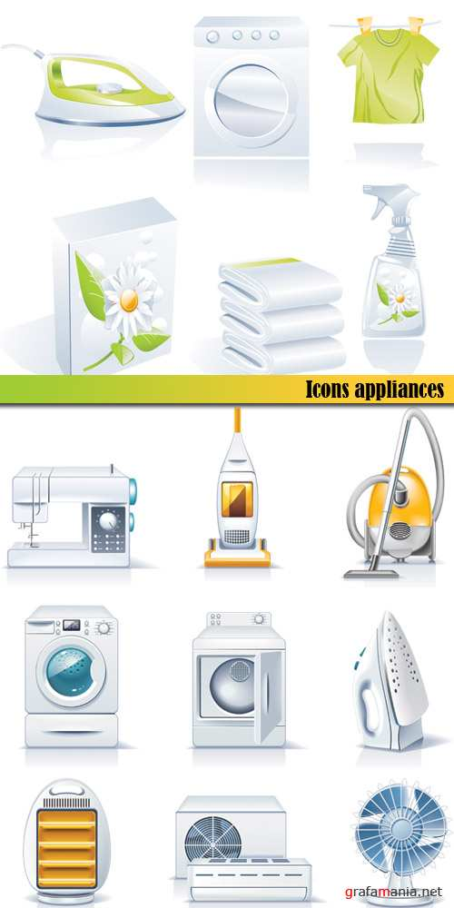 Icons appliances