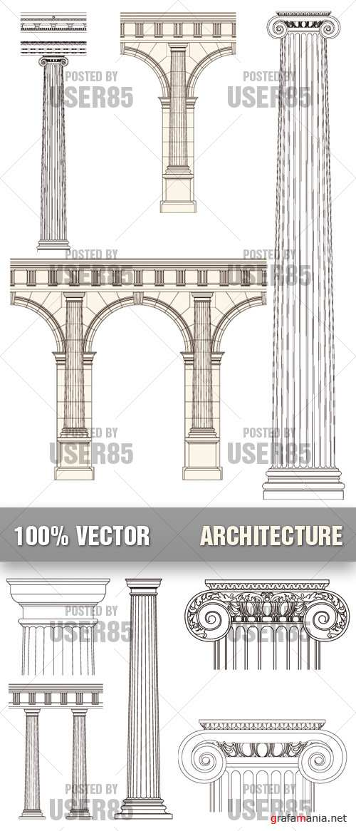 Stock Vector - Architecture