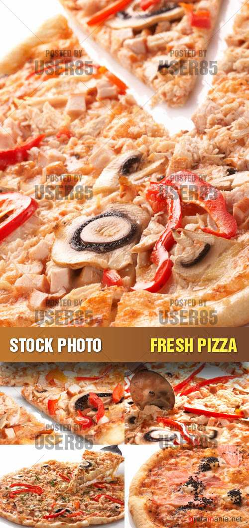 Stock Photo - Fresh Pizza