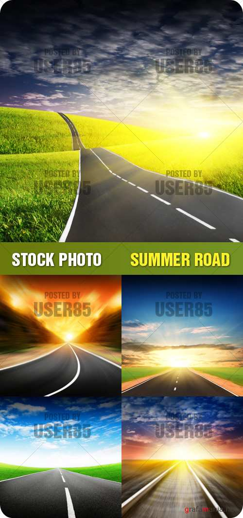 Stock Photo - Summer Road