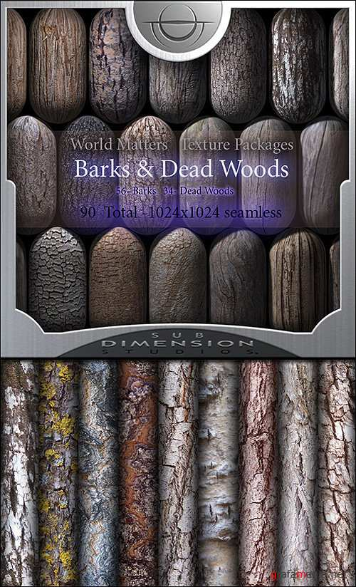 Sub Dimension Studio - World Matters Barks & Dead Woods