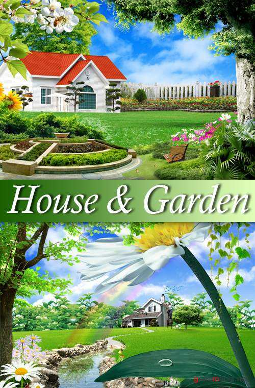 PSD Template - House & Garden