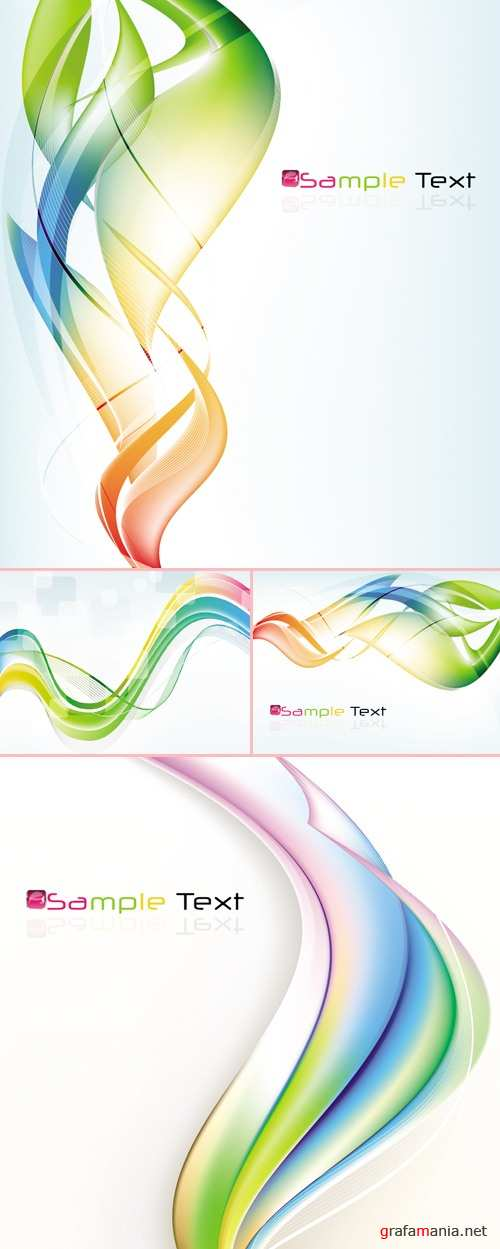 Abstract Color Backgrounds