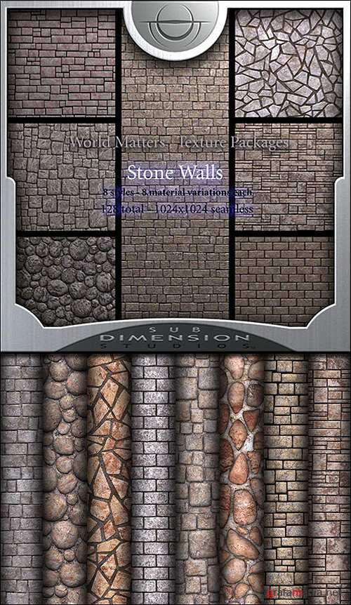 Sub Dimension Studio - World Matters Stone Walls