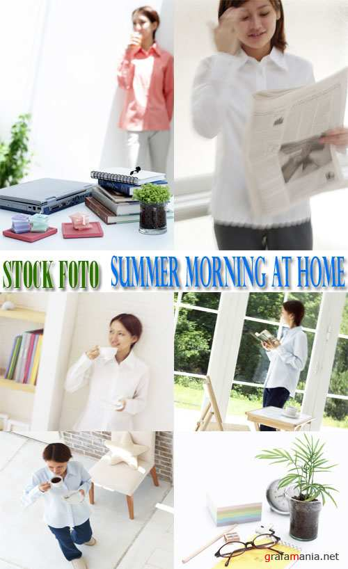 Stock Foto: Summer Morning At Home
