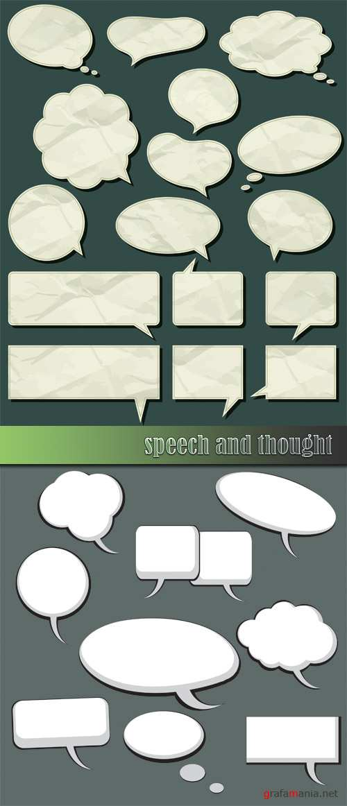 Speech and thought