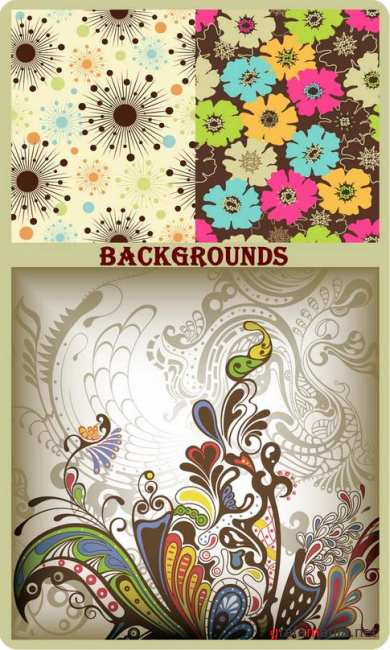 Floral Backgrounds 26