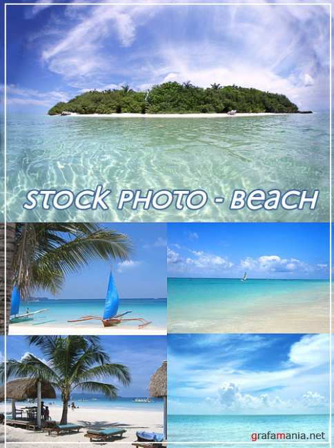 Stock photo - Beach