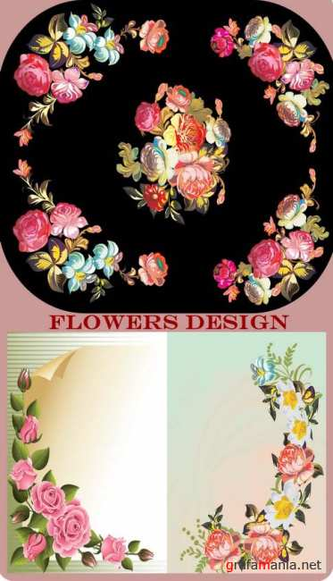 Flowers Design 3 set