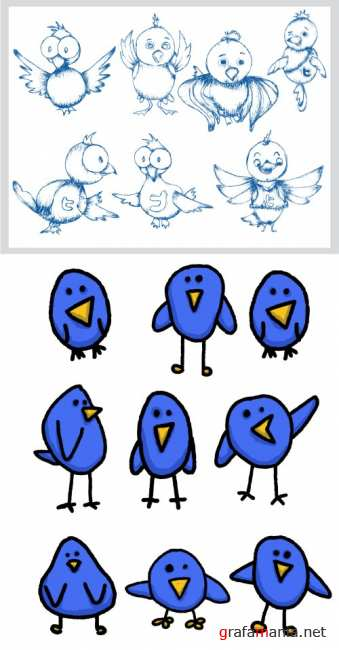 vector icons: birds | �����