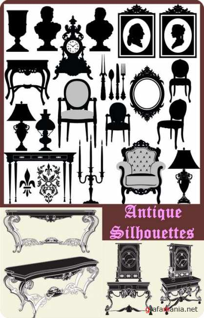 Antique Silhouettes 4