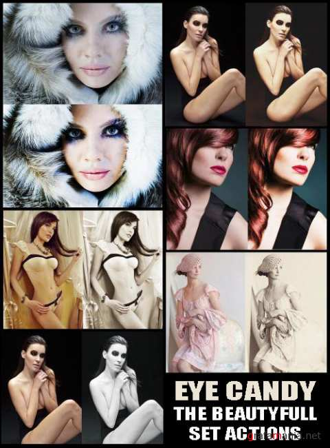 Eye Candy The BeautyFull Set Actions