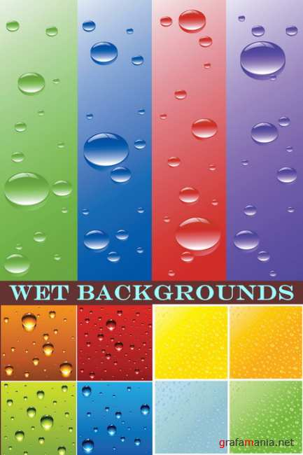 Wet Backgrounds 11