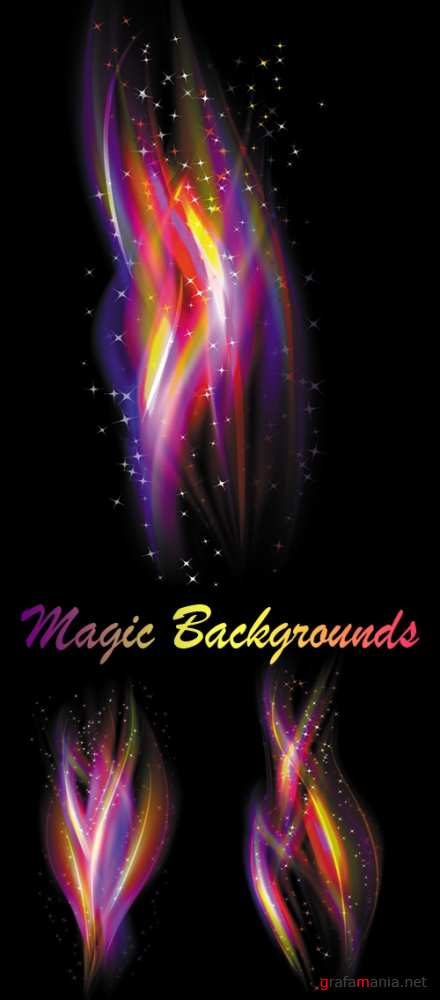 Magic Backgrounds Vector