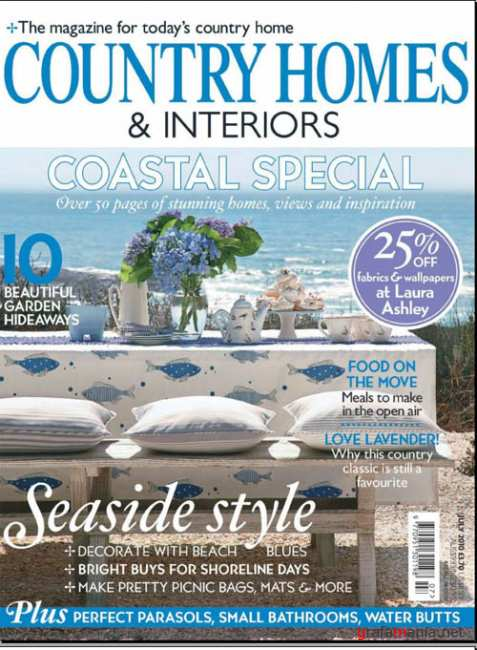 Country Homes & Interiors - July 2010