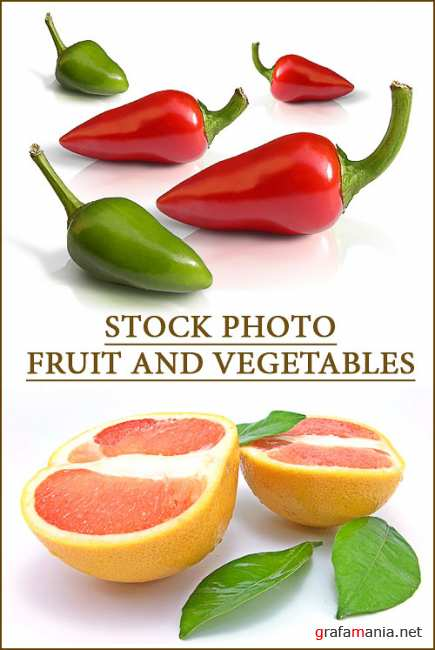 Stock photo - Fruit and vegetables