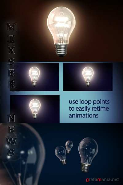 VideoHive - Light Bulb .49365 (Footages + AE project)
