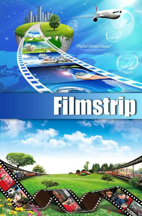 PSD Template - Filmstrip