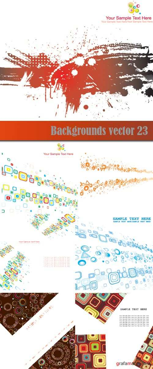 Backgrounds vector 23