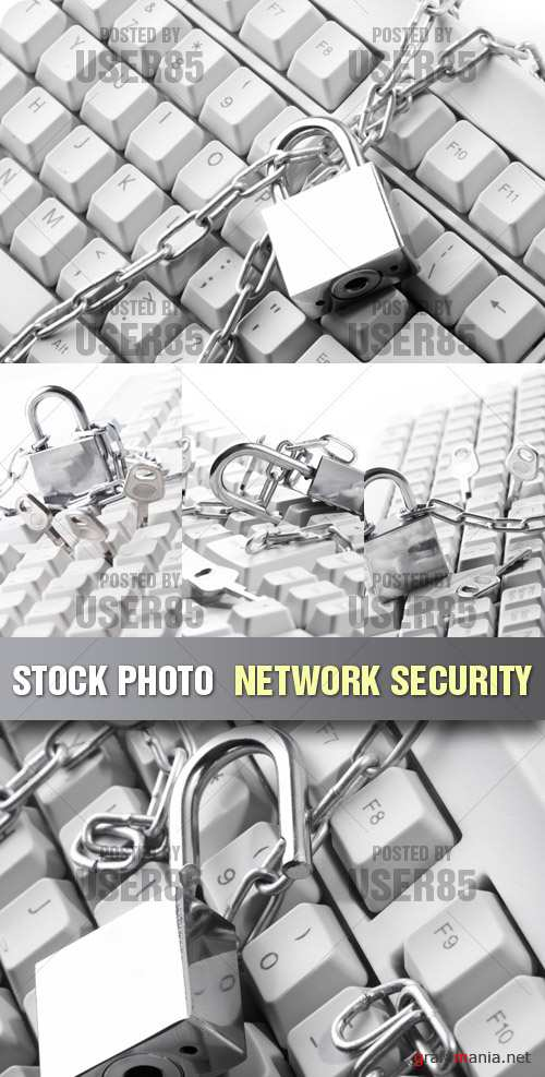 Stock Photo - Network Security